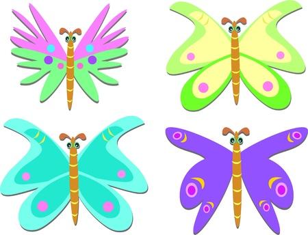 exotic butterflies: Mezcla de mariposas ex�ticas