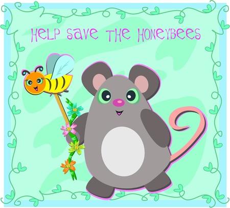 Framed Help Save the Honeybees