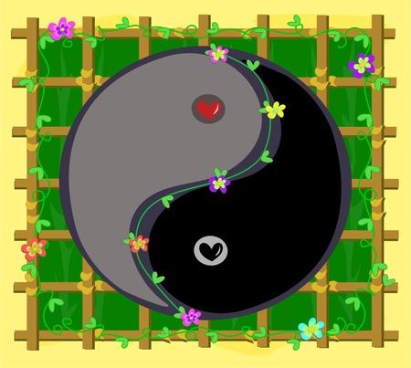 Yin Yang Harmony in Nature