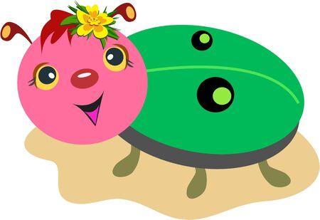 Ladybug met persoonlijkheid