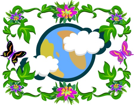 madre tierra: La madre tierra y naturaleza
