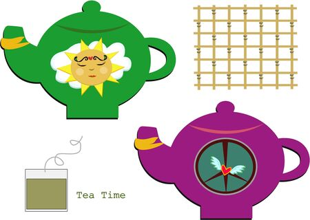 Mix of Tea Time Items