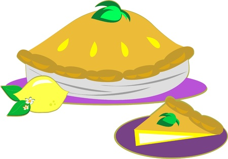 Lemon Pie and a Slice