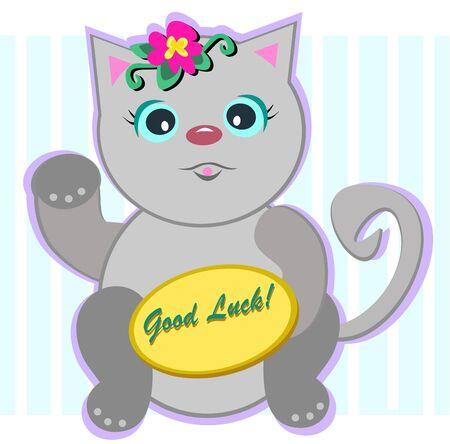 in bocca al lupo: Luck Cat Buona