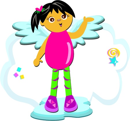 Angel Shoes Vector