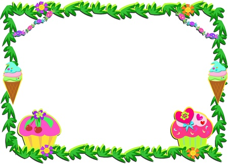 Plant Frame with Sweet Goodies
