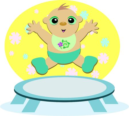 baby: Baby Trampoline