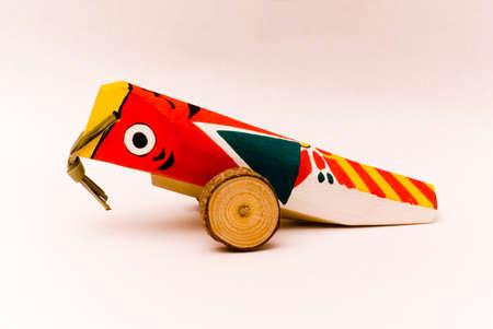 pull toy: A lo largo de tirar del juguete de madera