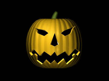 3D Pumpkin Stock Photo - 1440661