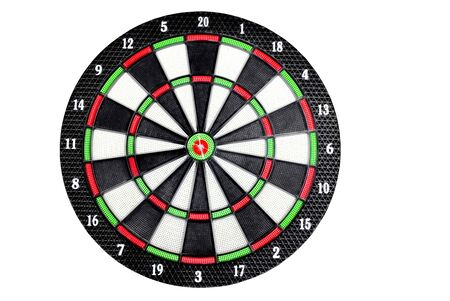 Dart Board on isolated background