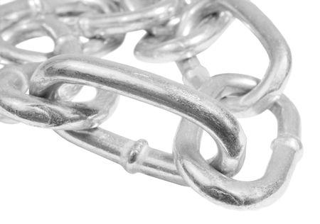 Silver steel chain macro