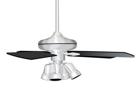 ceiling fan: Ceiling Fan Illustration Stock Photo
