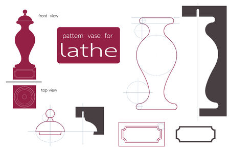 lathe: vase lathe