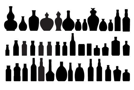 alcohol bottles: bottle