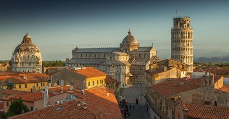 Pisa rooftops, Italy Stockfoto - 119097694
