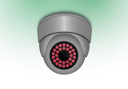 vandal: camera with IR light