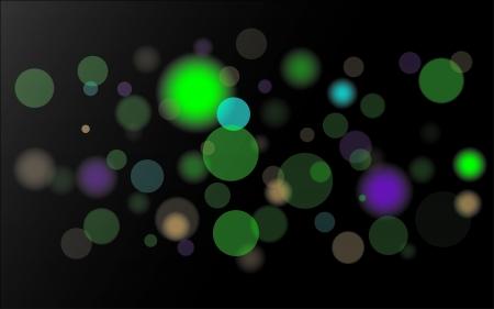 lights in dark
