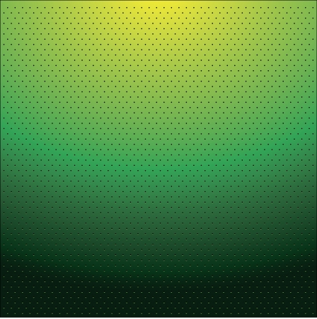 shadowed: green shadowed dots on green gradient background Illustration