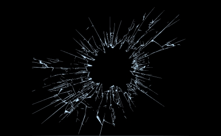 glasscherben: Glasscherben Illustration, voll editierbar