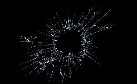 vetro rotto: Illustrazione di vetro rotto, completamente modificabili