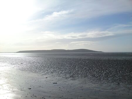 weston super mare: Beach - Weston Super Mare During Sunset