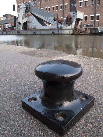 dredger: Gloucester Docks - Canal Dredger