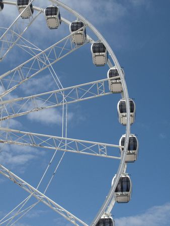 Weston Wheel, Weston Super Mare, Somerset Stock Photo