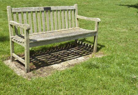 Park Bench on Recreation Ground