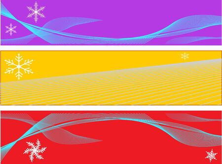 christmas border decorations Stock Vector - 5616989