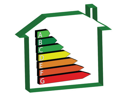 kwh: energy saving scale - ratings A to G