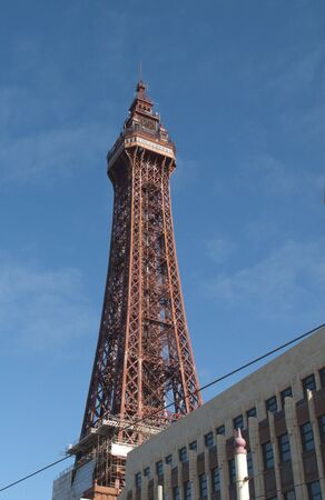 blackpool tower on a bright sunny day with blue sky Stock Photo - 5734486