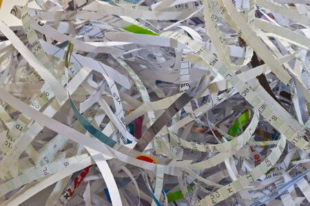 important documents shredded to prevent identity theft photo