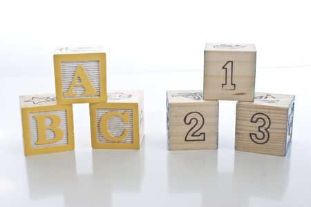 The first letters and numbers ABC 123