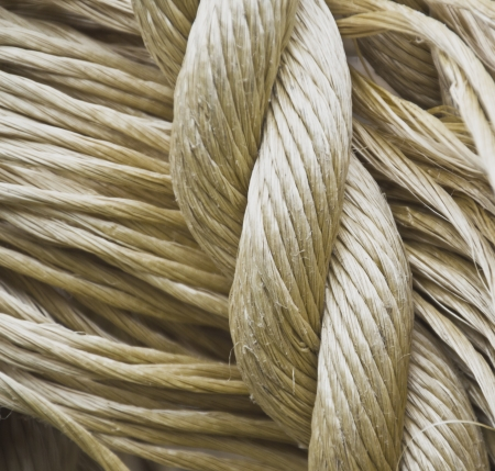 the different textures of rope Stock Photo - 14974017