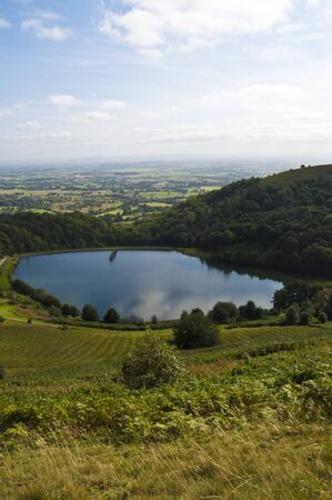 the reservoir on malvern hills, worcestershire, england Stock Photo - 15274607