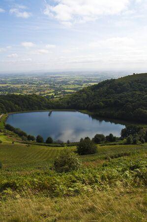the reservoir on malvern hills, worcestershire, england Stock Photo - 15274607