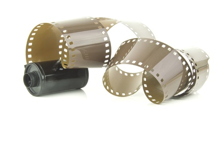 some old style camera film Stock Photo - 15463940