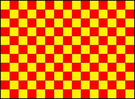 repeating pattern of red and yellow squares