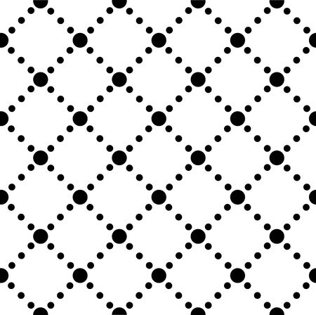 Seamless repeating background of dots