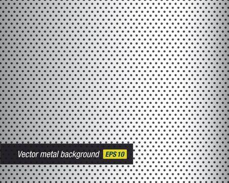 netty: clean metal grid background