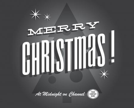 happy holidays: Merry christmas vintage tv-show en bioscoop