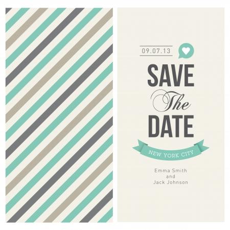 anniversario di matrimonio: carta di invito a nozze modificabile con strisce backround, font, il tipo, nastri e vettoriali di cuore