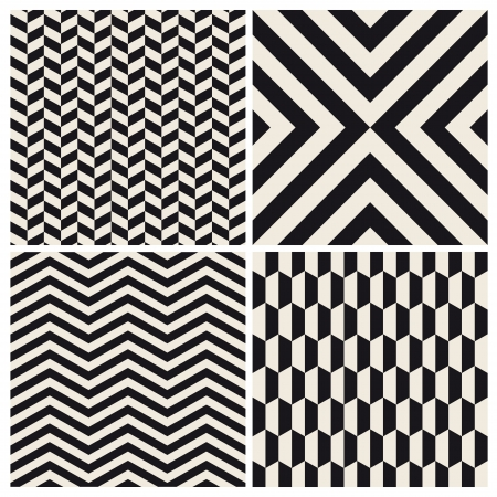 herringbone background: seamless pattern background set retro vintage design