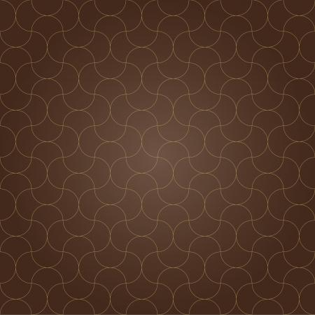 de fondo sin fisuras patrón de rejilla marrón retro vendimia diseño vectorial