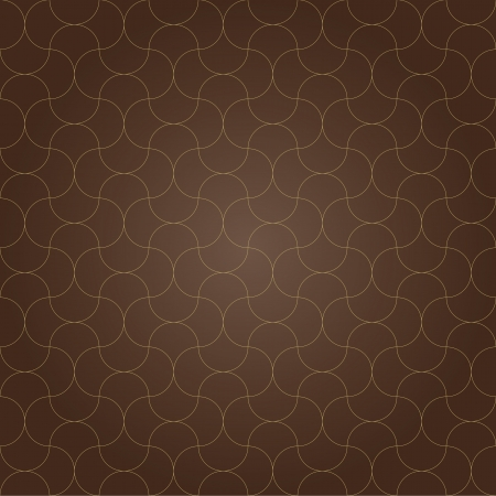 seamless pattern background brown grid retro vintage design vector Stock Vector - 19278094