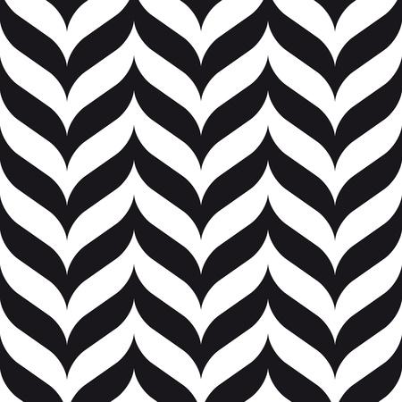 geométrico: chevrons emenda fundo design retro do vintage