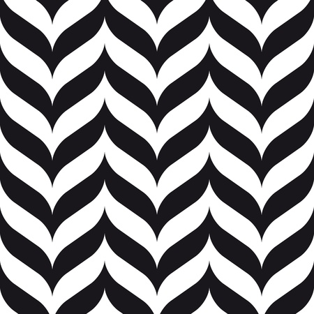 forme geometrique: chevrons seamless design rétro vintage Illustration