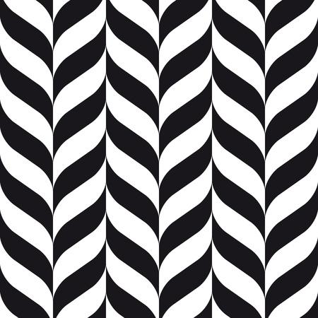 pop art herringbone pattern: chevrons seamless pattern background retro vintage design Illustration