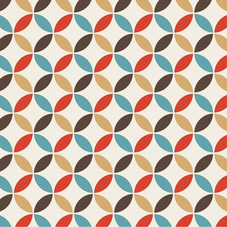 pop art herringbone pattern: background vintage abstract seamless pattern
