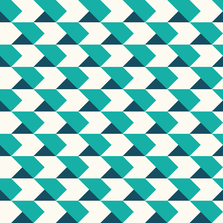 pop art herringbone pattern: chevrons seamless pattern background retro vintage design Illustration